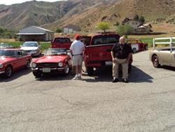 Click to view album: 2009 Run to the Ranch - British Car Ranch Wenatchee WA